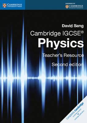 Cambridge IGCSE (R) Physics Teacher's Resource CD-ROM by David Sang