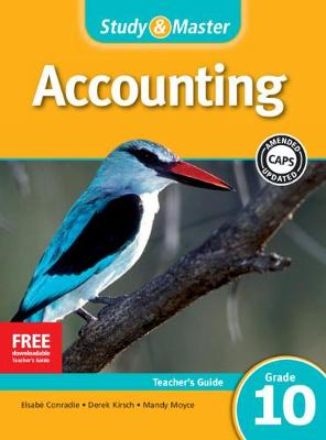 Study & Master Accounting Teacher's Guide Teacher's Guide by