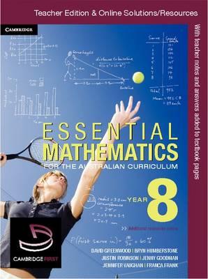 Essential Mathematics for the Australian Curriculum Year 8 Teacher Edition by Kelly Clitheroe, Jenny Goodman, Kevin McMenamin, Alex Nagy