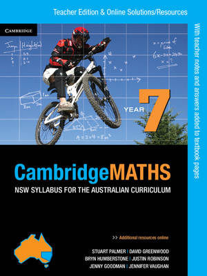 Cambridge Mathematics NSW Syllabus for the Australian Curriculum Year 7 Teacher Edition by Jenny Goodman