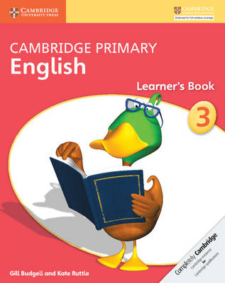 Cambridge Primary English Stage 3 Learner's Book by Gill Budgell, Kate Ruttle