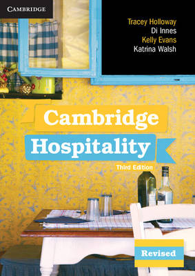 Cambridge Hospitality by Tracey Holloway, Dianne Innes, Kelly Evans, Katrina Walsh