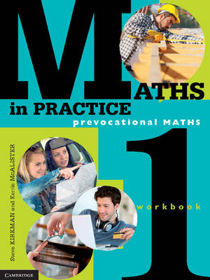 Maths in Practice Workbook 1 and Hotmaths Bundle Book & Online product by Steve Kirkman, Kerrie McAlister