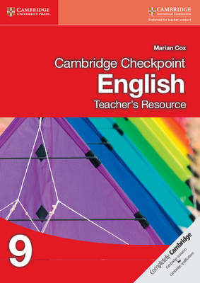 Cambridge Checkpoint English Teacher's Resource CD-ROM 9 by Marian Cox