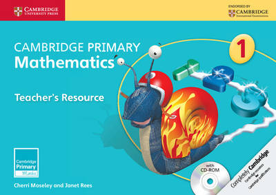 Cambridge Primary Mathematics Stage 1 Teacher's Resource with CD-ROM by Cherri Moseley, Janet Rees