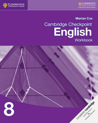 Cambridge Checkpoint English Workbook 8 by Marian Cox