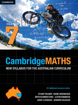 Cambridge Mathematics NSW Syllabus for the Australian Curriculum Year 7 and Hotmaths Bundle Book and Online Product by Stuart Palmer, David Greenwood, Bryn Humberstone, Justin Robinson