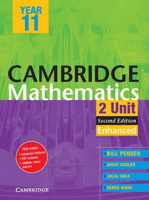 Cambridge 2 Unit Mathematics Year 11 Enhanced Version PDF Textbook by William Pender, David Saddler, Julia Shea, Derek Ward