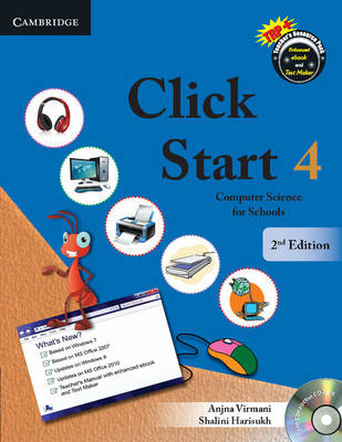 Click Start Level 4 Student's Book with CD-ROM Computer Science for Schools by Anjna Virmani, Shalini Harisukh