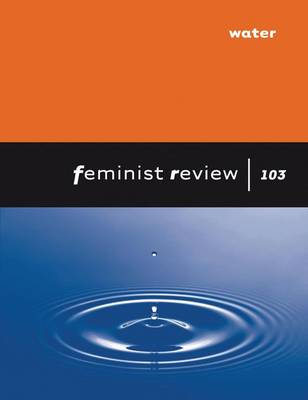 Feminist Review Issue 103 Water by Na Na