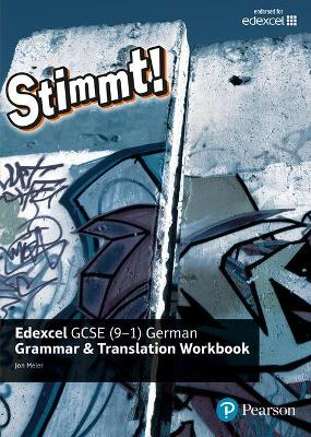 Stimmt! Edexcel GCSE German Grammar and Translation Workbook by Jon Meier