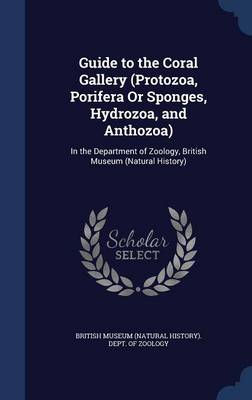 Guide to the Coral Gallery (Protozoa, Porifera or Sponges, Hydrozoa, and Anthozoa) In the Department of Zoology, British Museum (Natural History) by British Museum (Natural History) Dept