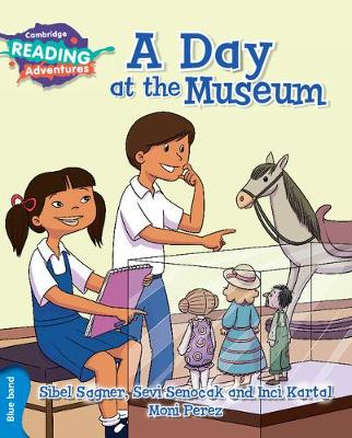 A Day at the Museum Blue Band by Sibel Sagner, Sevi Senocak, Inci Kartal