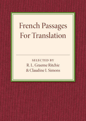 French Passages for Translation by R. L. Graeme Ritchie