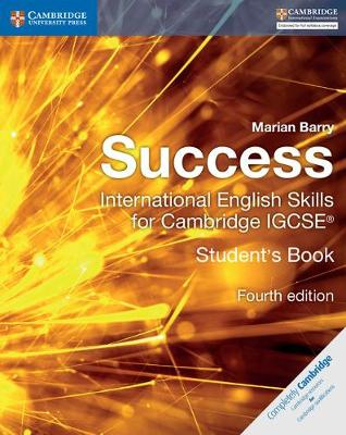 Success International English Skills for Cambridge IGCSE (R) Student's Book by Marian Barry