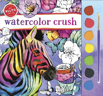 Watercolor Crush by Editors of Klutz