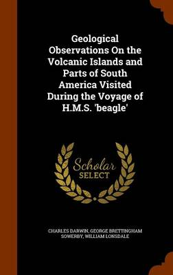 Geological Observations on the Volcanic Islands and Parts of South America Visited During the Voyage of H.M.S. 'Beagle' by Professor Charles (University of Sussex) Darwin, George Brettingham Sowerby, William Lonsdale