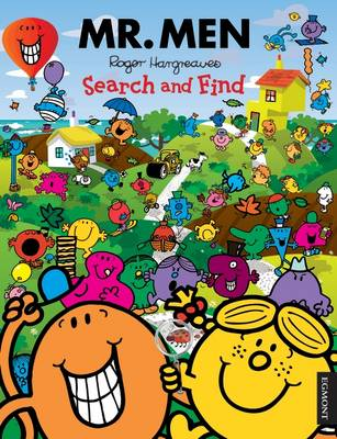 Mr. Men Search and Find Activity Book by