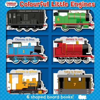 Thomas & Friends: Colourful Little Engines by