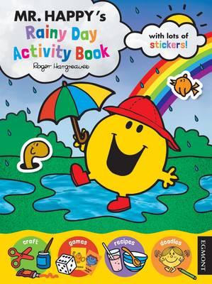 Mr Men: Mr. Happy's Rainy Day Activity Book by Egmont Publishing UK, Roger Hargreaves