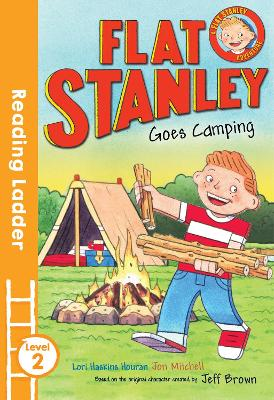 Flat Stanley Goes Camping by Jeff Brown