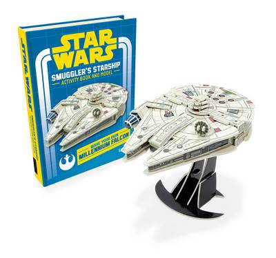 Star Wars: Smuggler's Starship Activity Book and Model by Lucasfilm Ltd