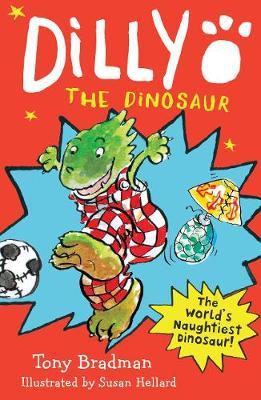 Dilly the Dinosaur 30th anniversary edition by Tony Bradman
