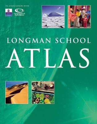 Longman School Atlas by Stephen Scoffham