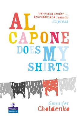 Al Capone Does My Shirts hardcover educational edition by Gennifer Choldenko