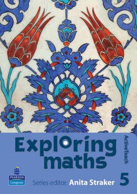 Exploring Maths: Tier 5 ActiveTeach CDROM by Anita Straker, Tony Fisher, Rosalyn Hyde, Sue Jennings