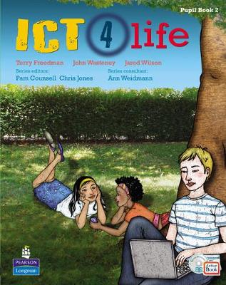 ICT 4 Life Year 8 Students' ActiveBook Pack with CDROM by Ann Weidmann