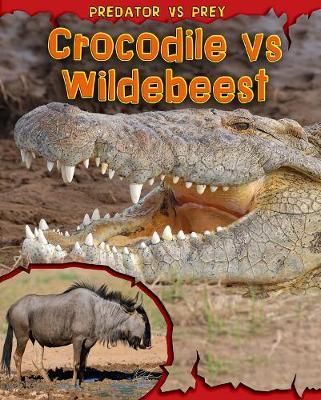 Crocodile vs Wildebeest by Mary Meinking