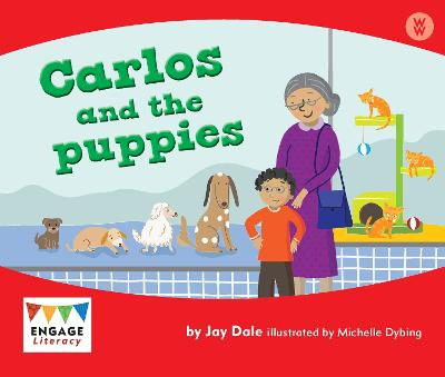 Carlos and the Puppies by Jay Dale