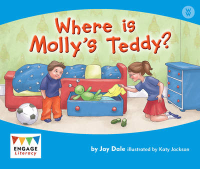Where is Molly's Teddy? 6 Pack by Jay Dale