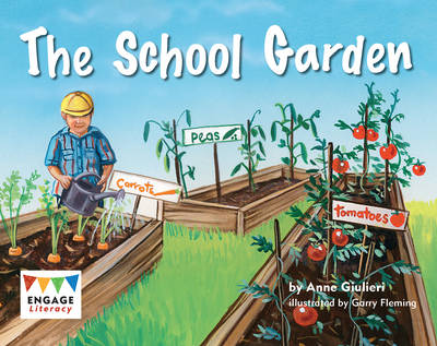 The School Garden by Anne Giulieri