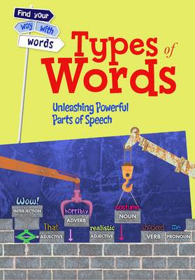 Types of Words Unleashing Powerful Parts of Speech by Rebecca Vickers