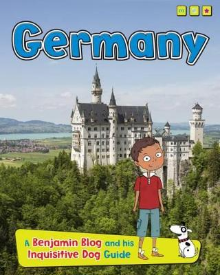 Country Guides, with Benjamin Blog and his Inquisitive Dog Pack C of 4 by Anita Ganeri