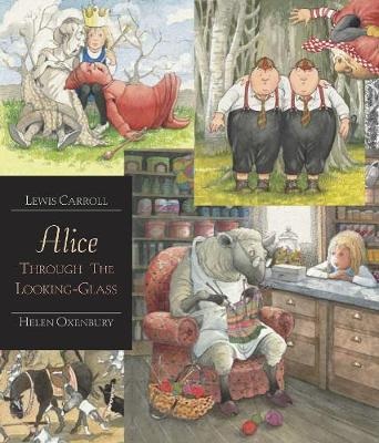 Alice Through the Looking Glass - Illustrated Edition by Lewis Carroll