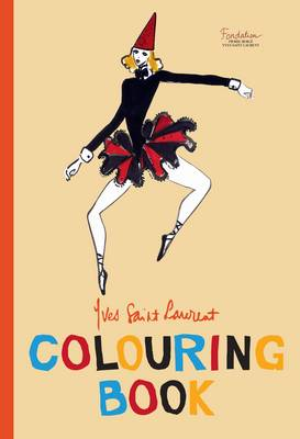 Yves Saint Laurent Colouring Book by Yves Saint Laurent