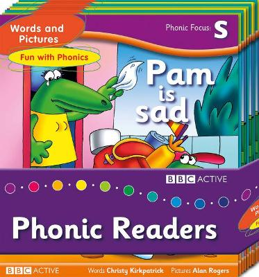 Words and Pictures Fun with Phonics Readers Multi-Pack by