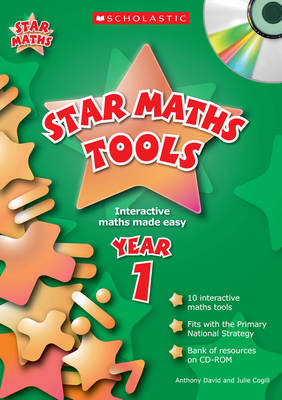 Star Maths Tools for Year 1 by Julie Cogill, Anthony David