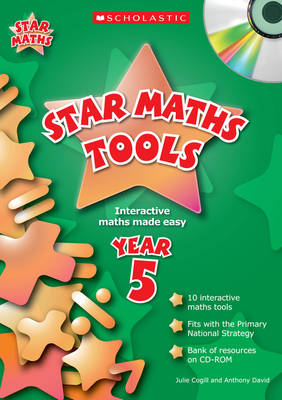Star Maths Tools Year 5 by Julie Cogill, Anthony David