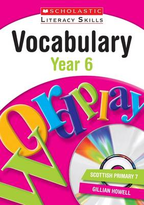 Vocabulary: Year 6 by Gillian Howell