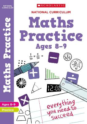 National Curriculum Maths Practice Book for Year 4 by Scholastic