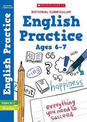 National Curriculum English Practice Book for Year 2 by Scholastic