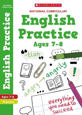 National Curriculum English Practice Book for Year 3 by Scholastic