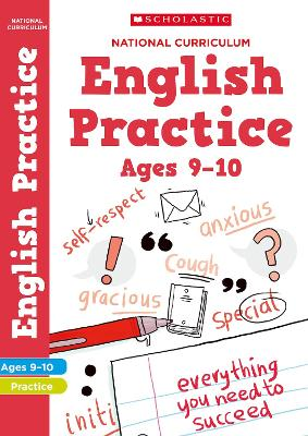 National Curriculum English Practice Book for Year 5 by Scholastic