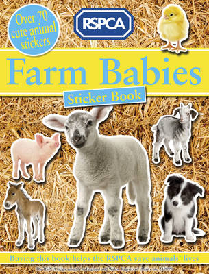 Farm Babies Sticker Book by RSPCA