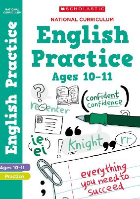 National Curriculum English Practice Book for Year 6 by Scholastic