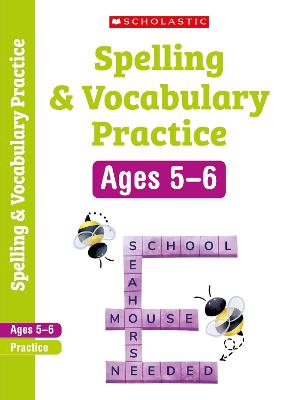 Spelling and Vocabulary Workbook (Year 1) by Alison Milford